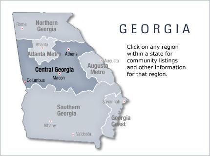 Central Georgia New Home Communities Living New Homes