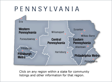 Pennsylvania: Manufactured Home and Mobile Home Communities