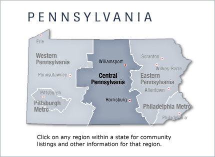 Central Pennsylvania New Home Communities Living New