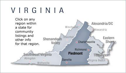 Virginia Piedmont New Home Communities Living New Homes