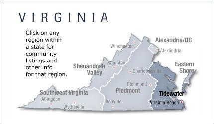 Tidewater Virginia New Home Communities Living New