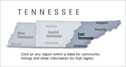 East Tennessee Unlike The Names Given To Regions Or Portions Of Many Of U S States The Term East Tennessee Can Be Precisely Defined